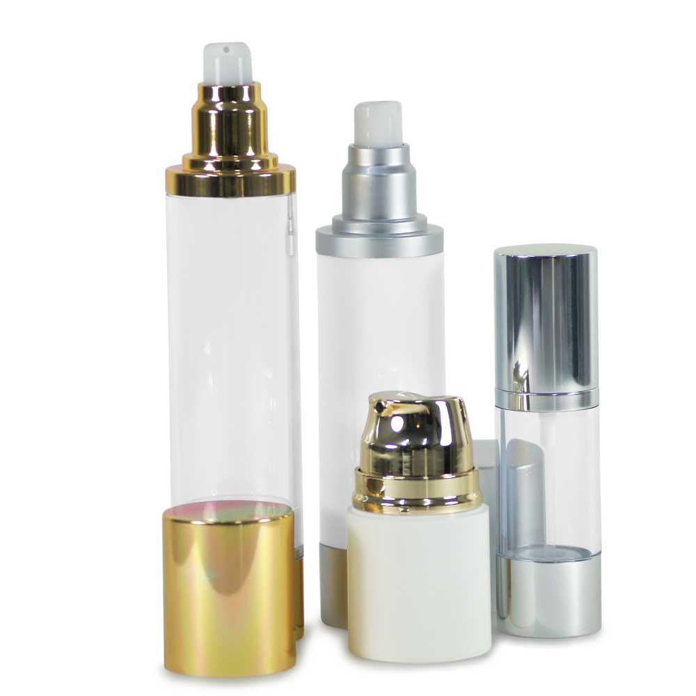 Airless Serum, Lotion bottles, PETG & Acrylic