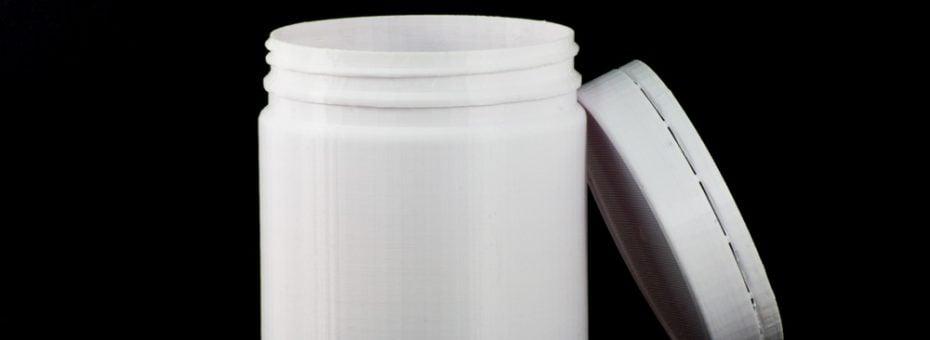 3D Printed Jar