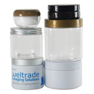 Cosmetic Jars - PET